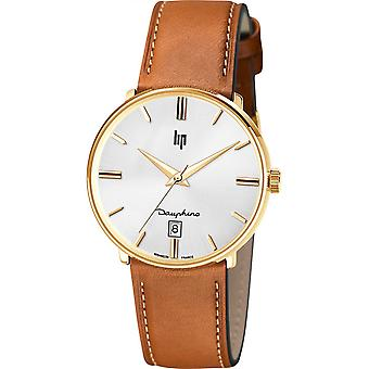 LIP watch watches 671428 - watch Leather Brown man