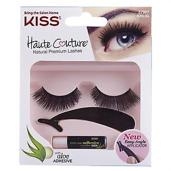 Kiss Haute Couture Everyday False Eyelashes - Lust - Glue & Applicator Included