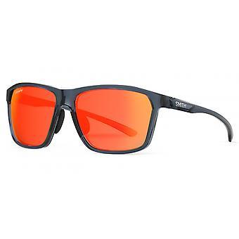 Sonnenbrille Unisex Pinpoint    blau/rot