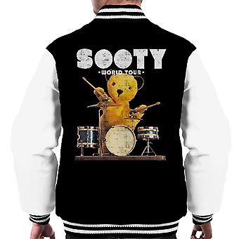 Sooty World Tour Drums Men's Varsity Jacket