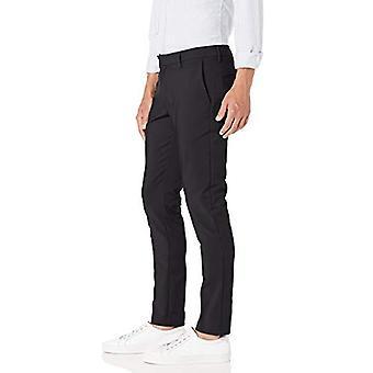 Brand - Goodthreads Men's Skinny-Fit Performance Chino Pant, Black 36W x 36L