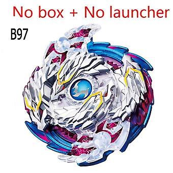 Bey Bay Burst Toys B-144 B-132- Handle Launcher and Box Bables Metal Fusion Spinning Blades Go Shoot Combo Toy Boy Gitf
