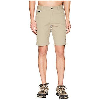 Columbia Men's Outdoor Elements Stretch Shorts, Size 30x10, Tusk