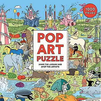Pop Art Puzzle by Illustrated by Andrew Rae