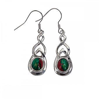 Heathergems Celtic Drop Earrings