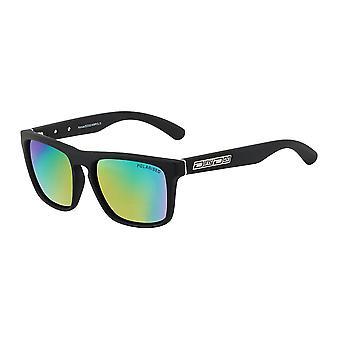 Dirty Dog Monza Polarised Sunglasses (black/green)