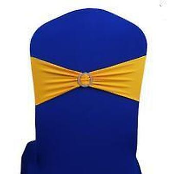 Bow Style, Stretchable Sash With Buckle For Wedding/meeting/banquets Chair