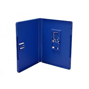 Game case for ps vita sony cartridge replacement retail case box - 10 pack blue | zedlabz
