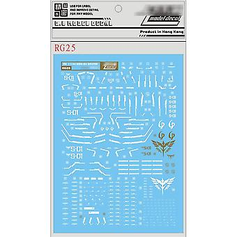 Unique Diy Water Decal - Gundam Model Decoration Stickers