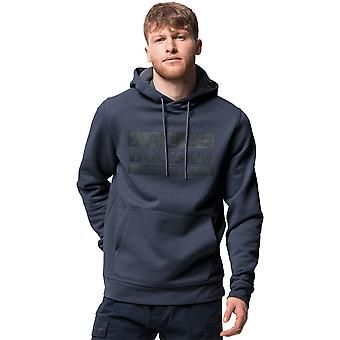 Jack Wolfskin Mens Merk Stretchy Hooded Sweatshirt Hoodie