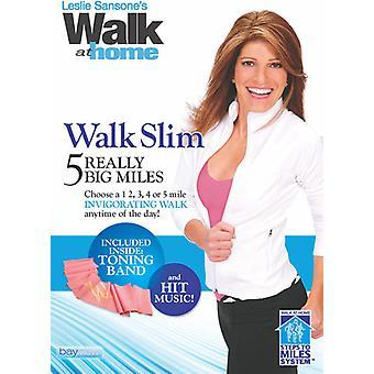 Walk Slim: 5 Really Big Miles [DVD] USA import