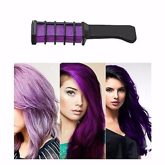 Mini Disposable Pro Personal Hair Chalk, Color Comb Dye Kits