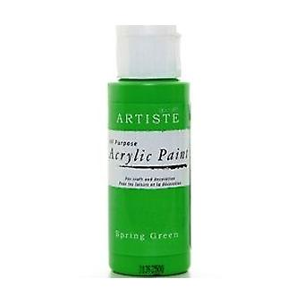 Spring Green docrafts Artiste All Purpose Acrylic Craft Paint - 59ml