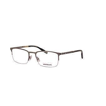 Montblanc MB0117O 004 Ruthenium Glasses