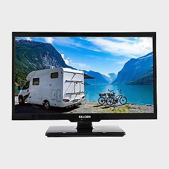 "Nuevo Falcon 22"" HD Travel TV con DVD Freeview Freesat USB Natural"