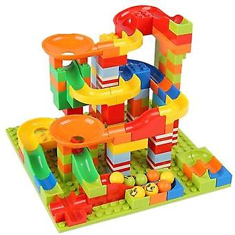 Marble Race Run Ladrillos Set-building Bloques Montaje