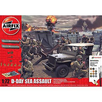 Airfix D-Day 75Th Anniversary Sea Assault Geschenkset (Juni 2019)
