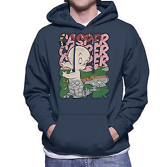 Casper The Friendly Ghost Golf Water Men's Hooded Sweatshirt