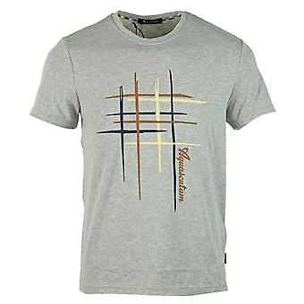 Aquascutum Crew Neck Grey T-Shirt