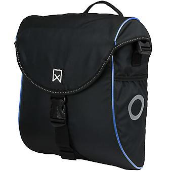 Willex Bicycle Bag 300 S 12 L Black and Blue