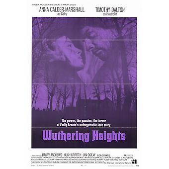 Wuthering Heights film affisch Skriv (27 x 40)