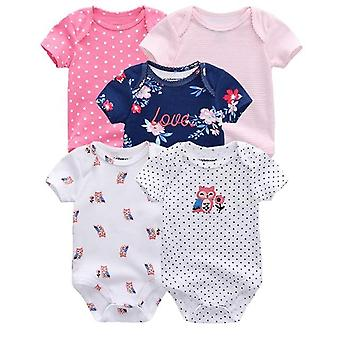 Boy & Clothes, Summer High Quality Striped Newborn Rompers