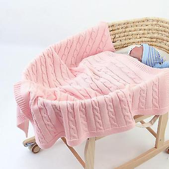 Vastasyntynyt vauvan puuvillainen makuupussi swaddle pehmeä vastaanottopeitto