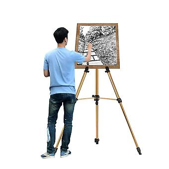 Aluminum Easel Stand Tripod Lightweight Sturdy Field Easel For Painting With