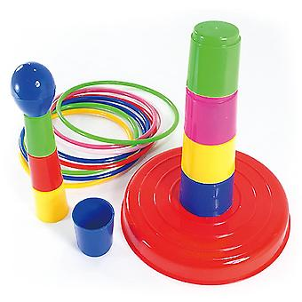Sports Circle Ferrule Stacked Layers, Interactive Game