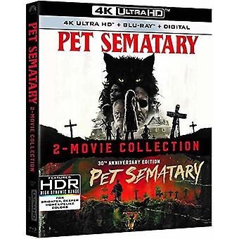 Pet Sematary 2019 & 1989 [Blu-ray] USA import