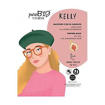 Kelly skalar av ansiktsmask - fikon torr hud - 08 13 g pulver