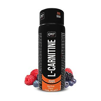 L-carnitine red fruit 960 ml of 80ml