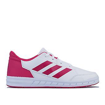 Girl's adidas Junior AltaRun Trainers in White