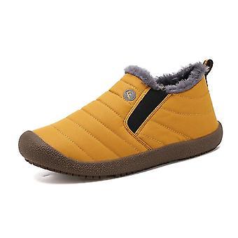 أحذية الكاحل الدافئة الشتاء الرجال أحذية الأحذية للماء