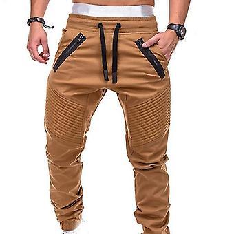 Bărbați Pantaloni Moda Fermoar Pocket Pantaloni Solid Joggers