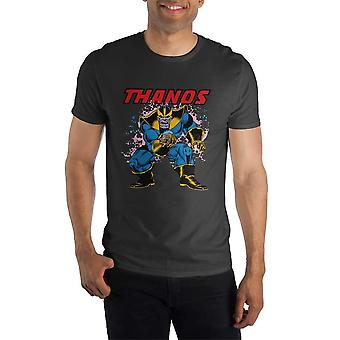 Marvel comics thanos men's black t-shirt tee shirt