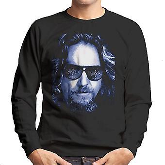 The Big Lebowski The Dude Face Cold Filter Men's Sweatshirt