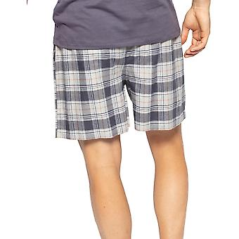Cyberjammies Thomas 6552 Men's Harmaa Check Pyjama Lyhyt