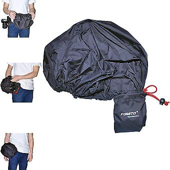 Fomito camera regen cover jas tas beschermer regenbestendig waterdicht voor canon nikon pendax sony dslr et