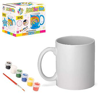 Made it! ty6037 mug craft painting set for kids