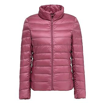 Naiset Ultra Light Down Feather Jacket Plus Women's Overcoat Windbreaker Takit