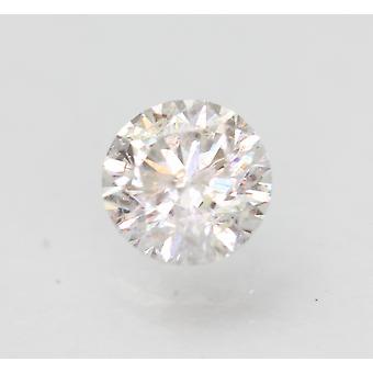 Certifié 0.72 Carat E SI2 Round Brilliant Enhanced Natural Loose Diamond 5.68mm
