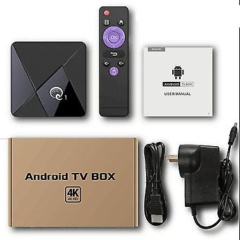 Q1 Mini Smart Tv Box Andriod 9.0, Quad Core 2.4ghz Wifi 4k Google Play Android