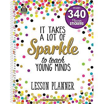 Planificador de lección de confeti