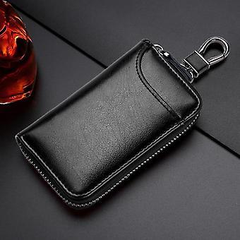 Echtes Leder Schlüsselanhänger /Bag / Schlüssel Beutel