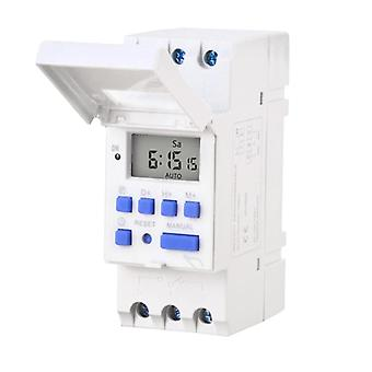 Electronic Programmable Digital Time Switch Relay Timer Control Ac 220v 230v