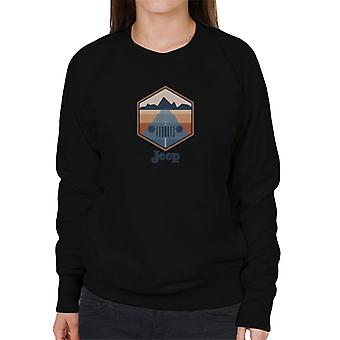 Jeep Drive With A View Women's Sweatshirt