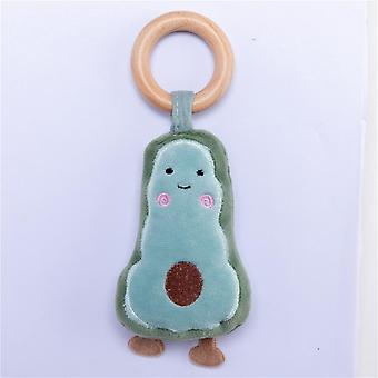Baby Rattles Wooden Pendant Mobile Baby