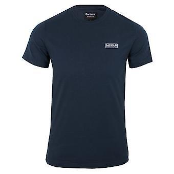 Barbour international men's small logo navy t-shirt