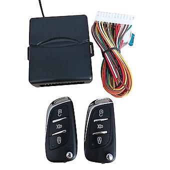 Universal Car Auto Keyless Entry System Button Start Stop Led Keychain Central